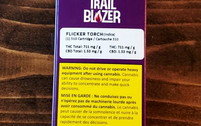 VAPE CARTRIDGE- 'Flicker Blend' (Indica)