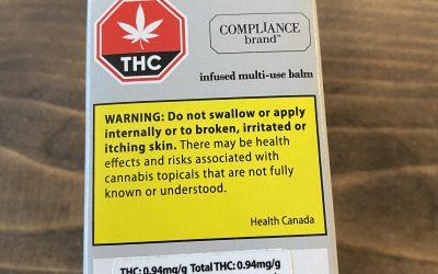 TOPICAL Multi purpose THC Balm 1gram (Compliance Brand)