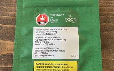 TGOD -DISSOLVABLE THC POWDER DRINK
