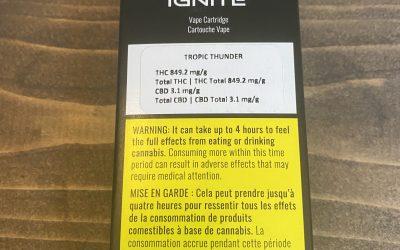 VAPE CARTRIDGE Ignite Tropic Thunder (Hybrid)