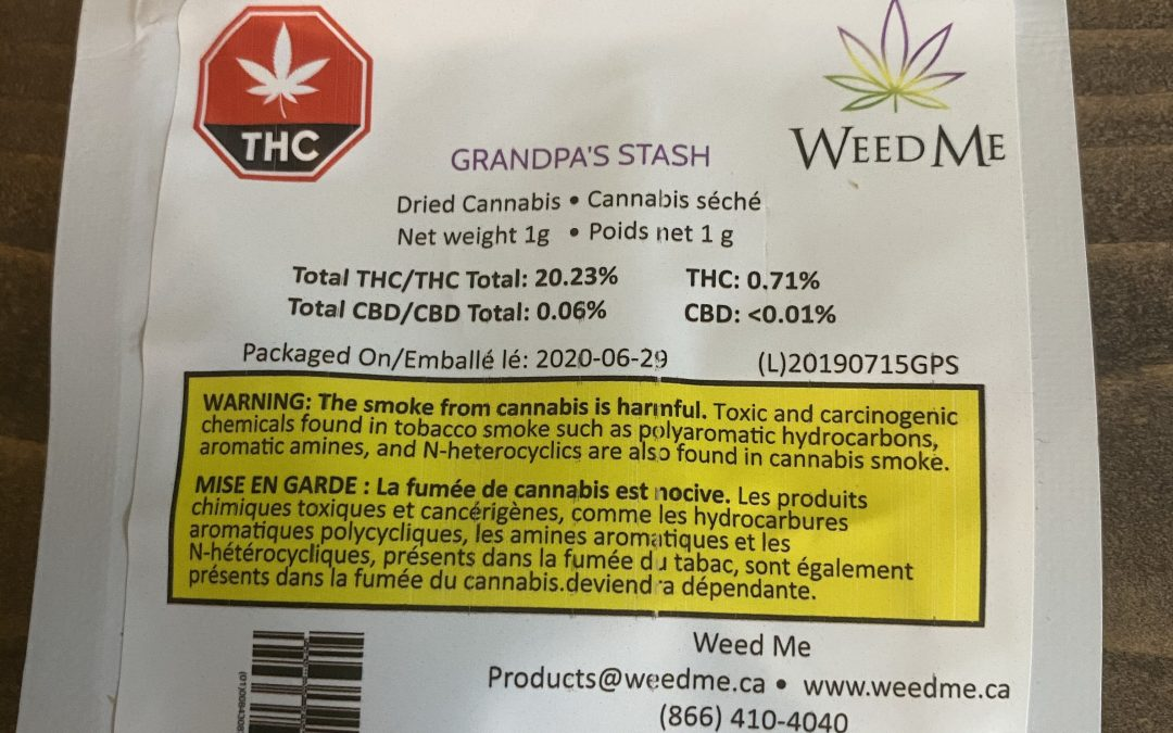 FLOWER Grandpa's Stash (Indica) Weed me