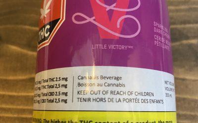 HEXO Little Victory Sparkling Dark Cherry Beverage