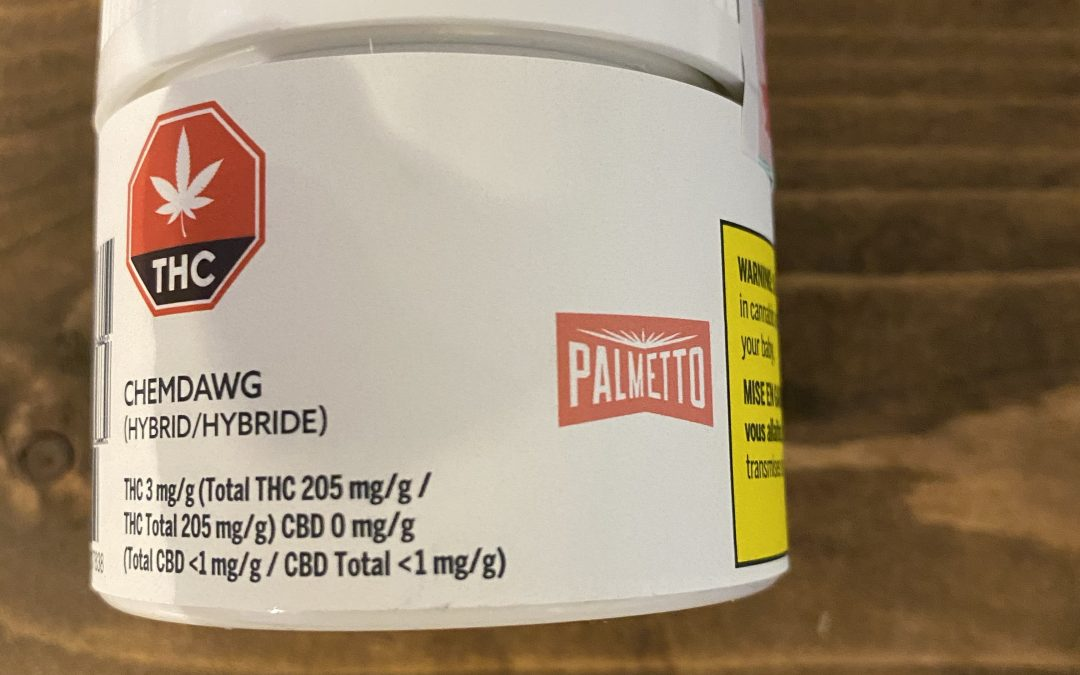 FLOWER Chemdog (Hybrid) Palmetto