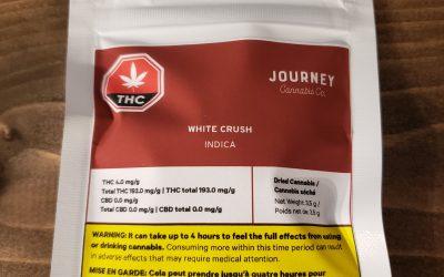 FLOWER White Crush (Indica) Journey Cannabis Co