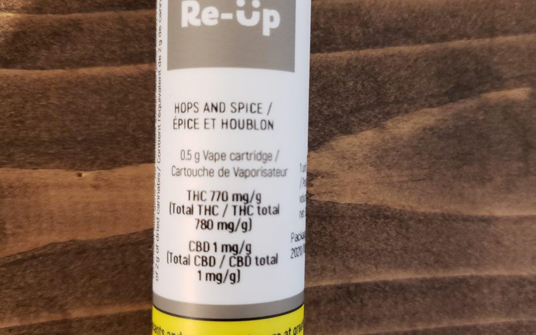 VAPE CARTRIDGE Hops and Spice (Hybrid) Re-up