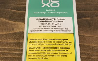 VAPE CARTRIDGE Tangie Kush (Sativa) Hexo