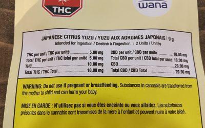 GUMMIES Japanese Citrus Yuzu (Hybrid) Wana