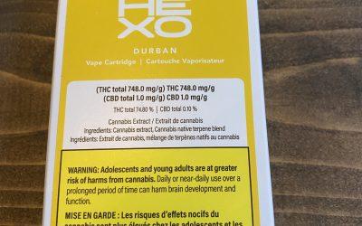 VAPE CARTRIDGE Durban Poison (Sativa) Hexo