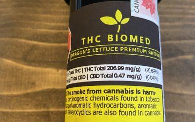FLOWER Dragon's Lettuce (Sativa) THC Biomed