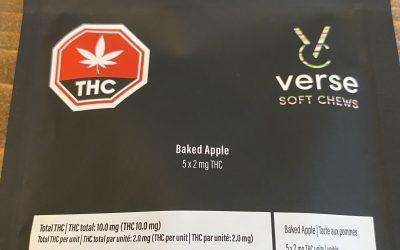 GUMMIES Baked Apple (Blend) Verse Soft Chews