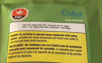 PREROLL Ghost Train Haze (Sativa) Color Cannabis 10 pack